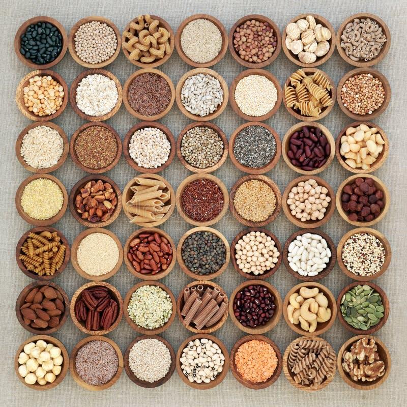 Vegan High Protein Health Food stock photo