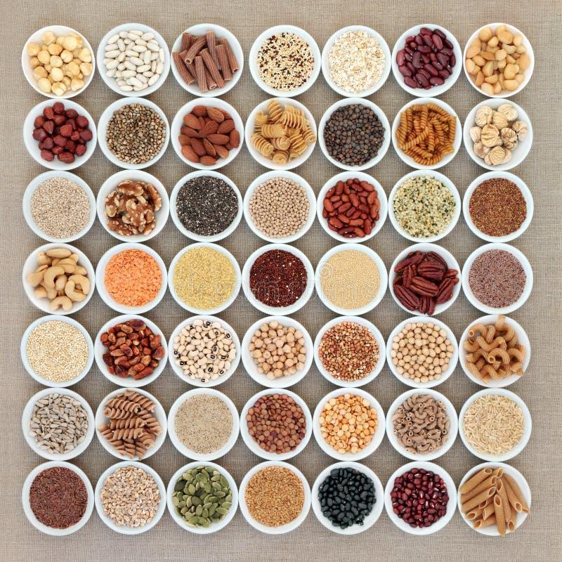 Vegan High Protein Health Food royalty free stock photos