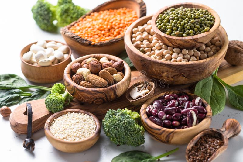 Vegan protein source. stock photography