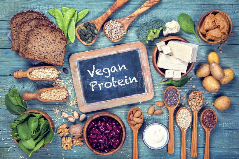 Download Vegan protein sources stock image. Image of broccoli - 114272165