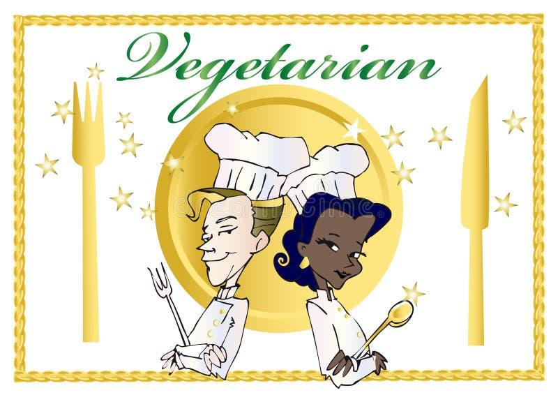 Vegan/séries végétariennes illustration de vecteur