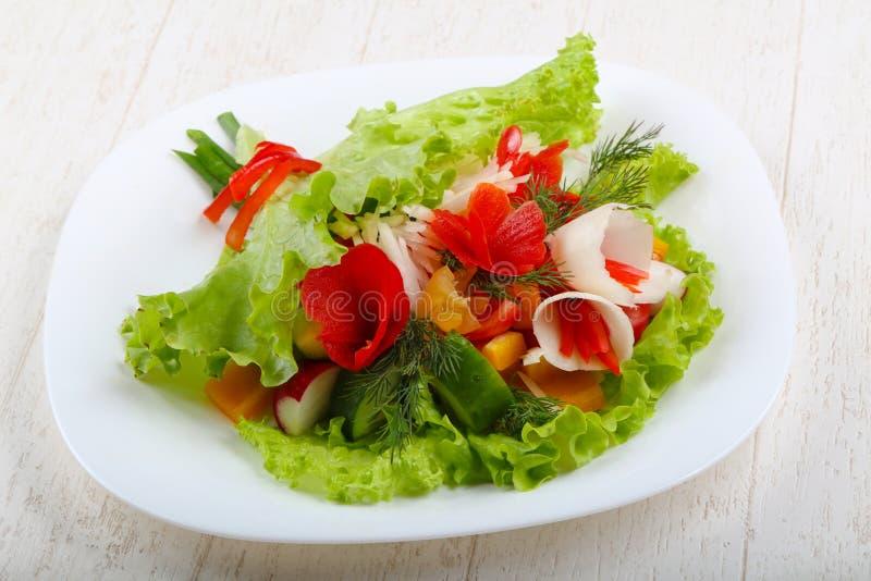 Vegan salad. Bouquet of vegetables stock images