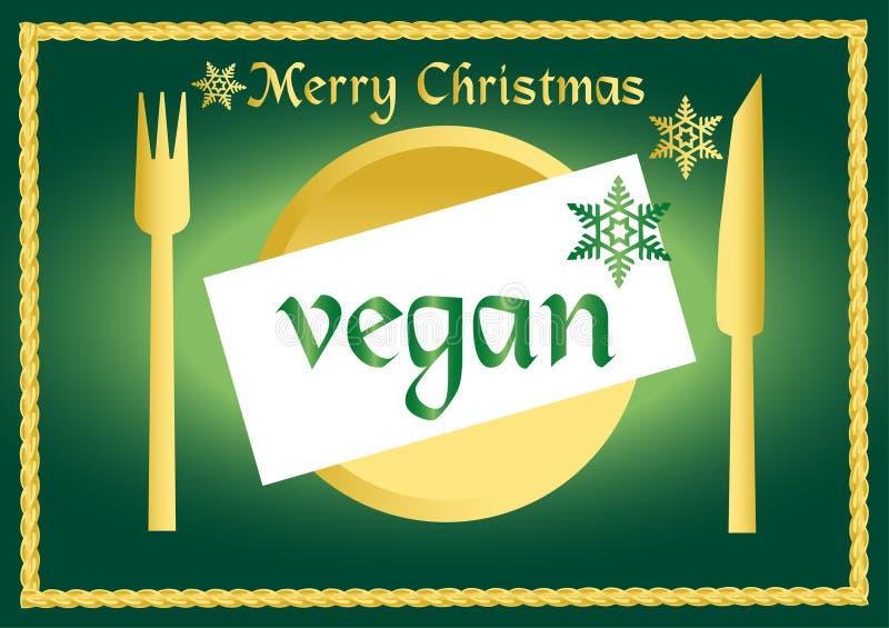 Vegan/vegetarische Serie stock abbildung