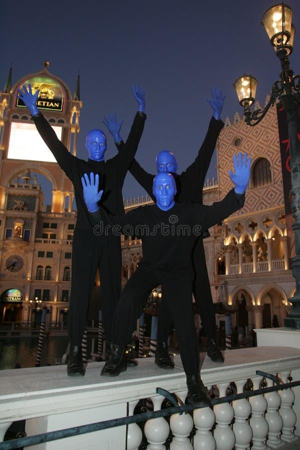 Vegas Blueman στοκ φωτογραφίες