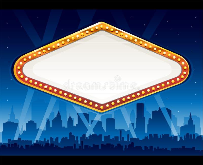 Vegas Casino Sign Stock Photo