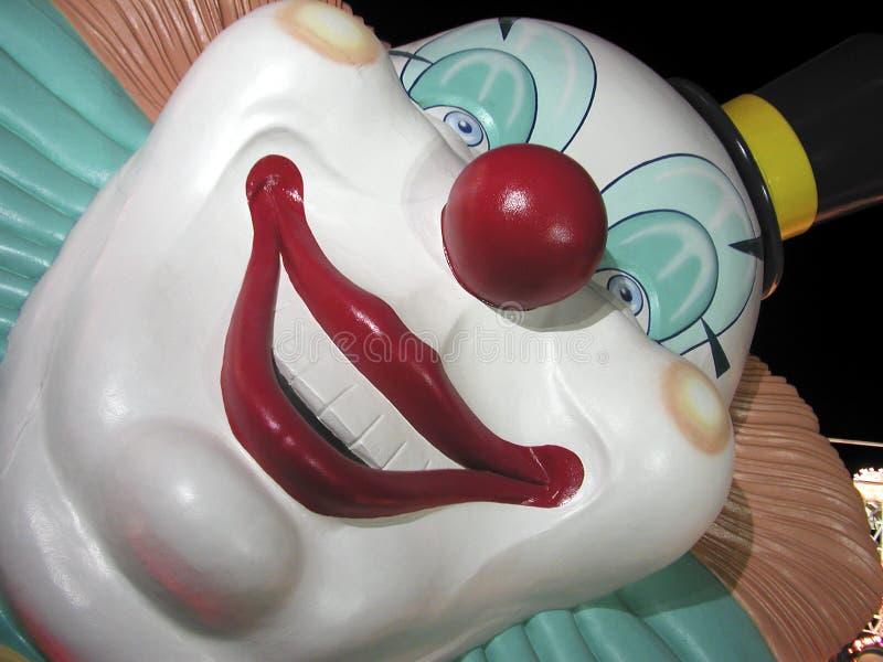 Vegas-Clown lizenzfreie stockbilder