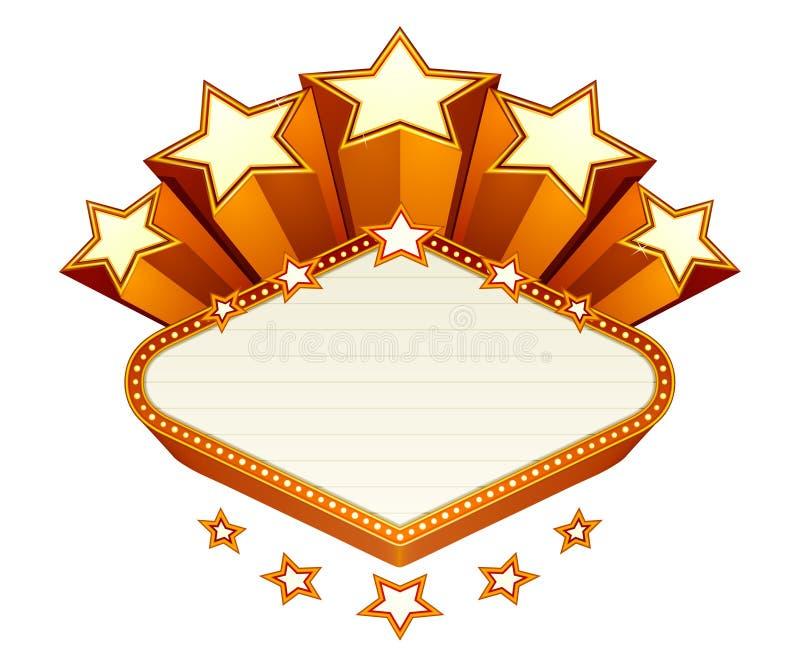 Download Vegas emblem stock vector. Image of banner, design, mark - 20181573