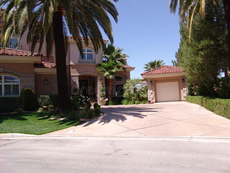 Vegas Home stock photography