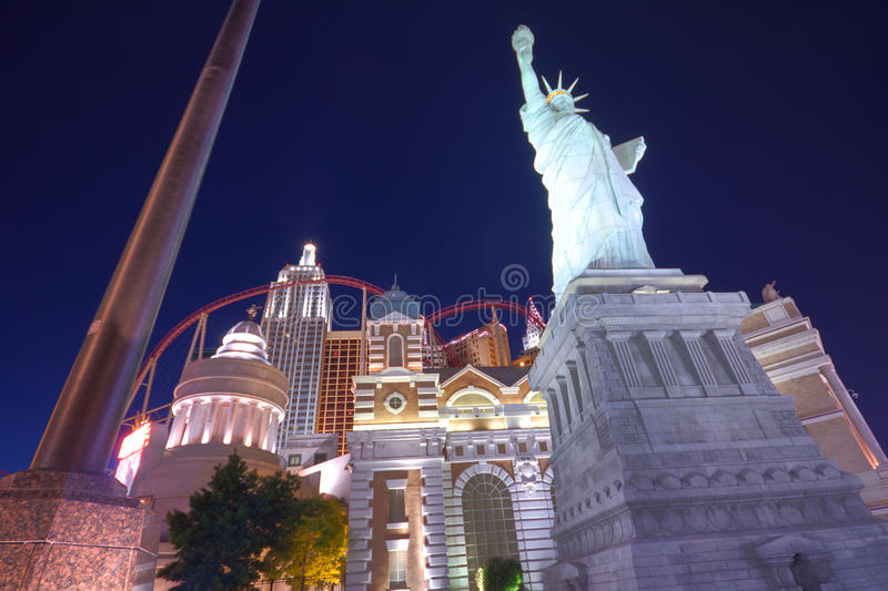 Vegas Hotel And Casino New York Editorial Stock Image