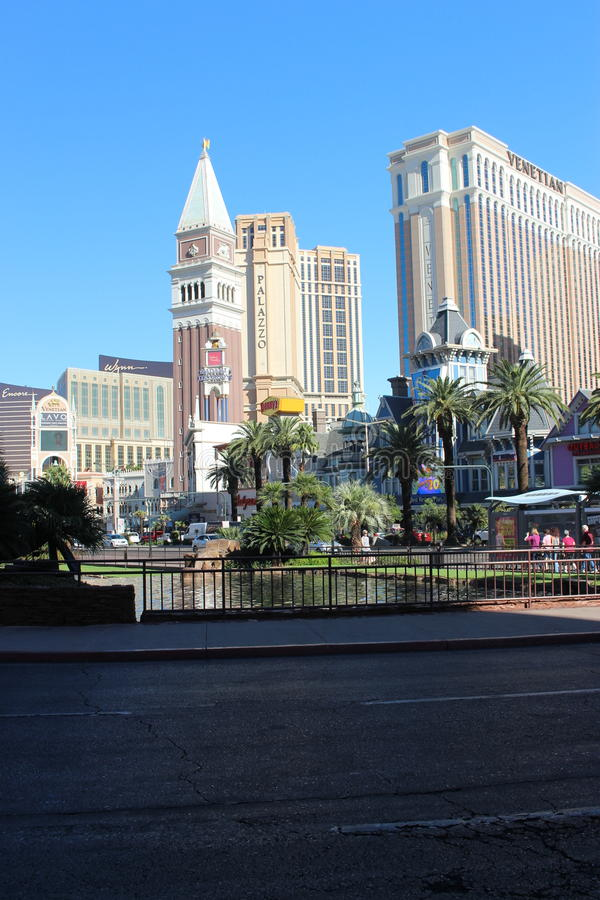 Vegas-Hotelkasino stockbild