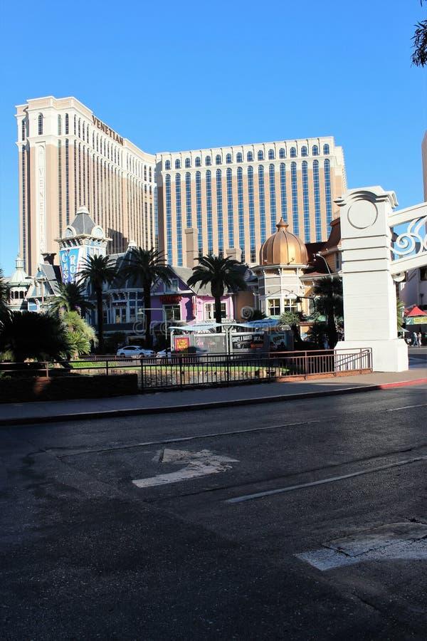 Vegas-Hotelkasino lizenzfreies stockfoto