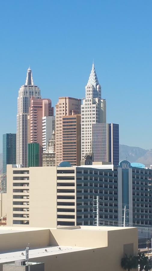 Vegas New York photographie stock libre de droits