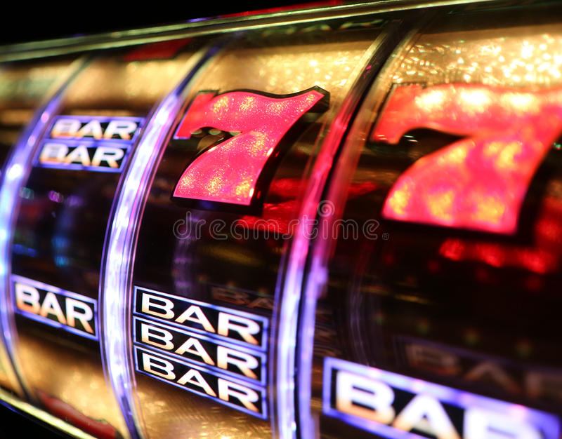 Vegas Slot Machine Editorial Photography