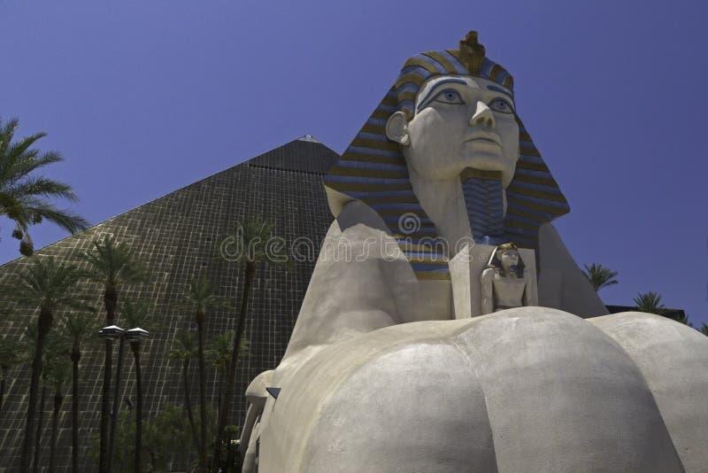 Vegas van Las van het Luxorhotel stock foto's