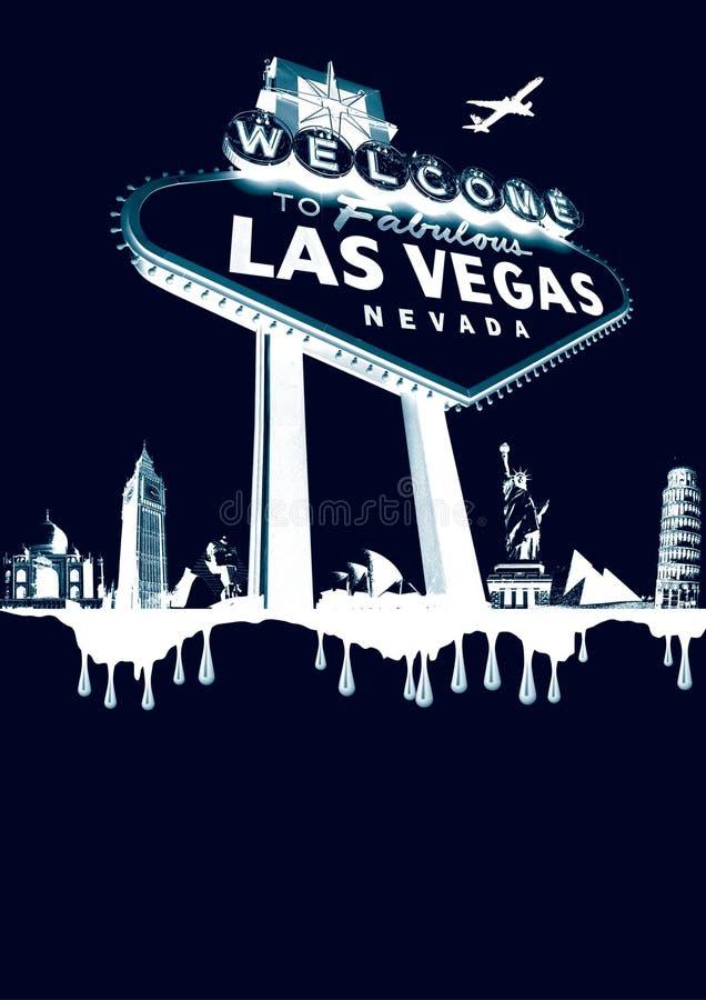 Vegas-weiß stockfotos