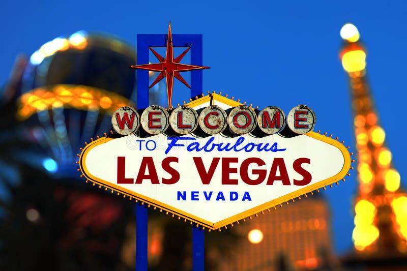 Vegasteken van Las stock foto