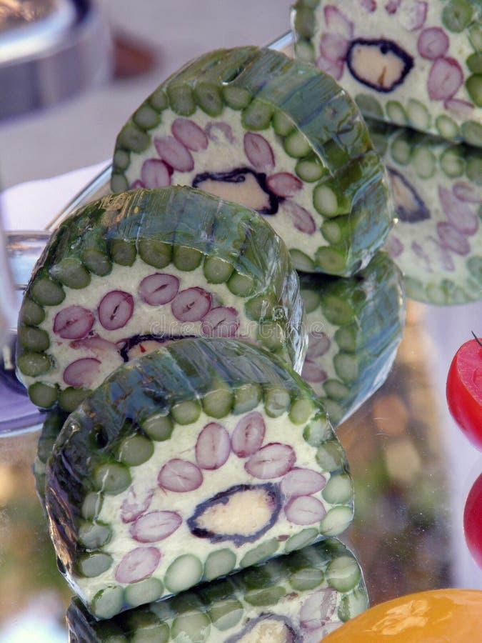 vegatble细致的果冻 免版税库存照片