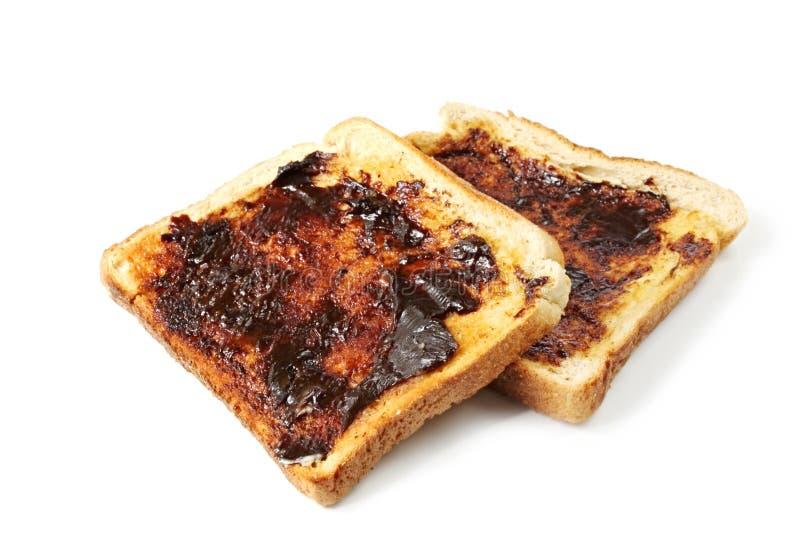 Vegemite Toast stockbilder
