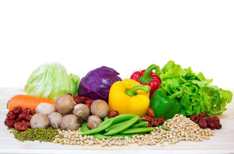 Vegestable食物材料 库存图片