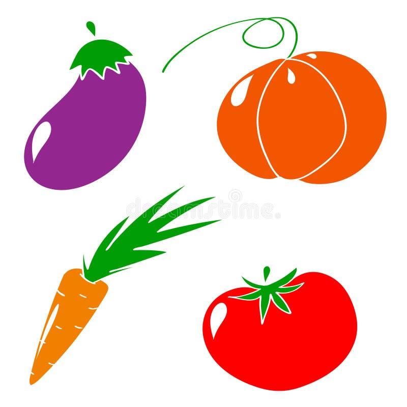 Vegetable собрание стоковое фото rf
