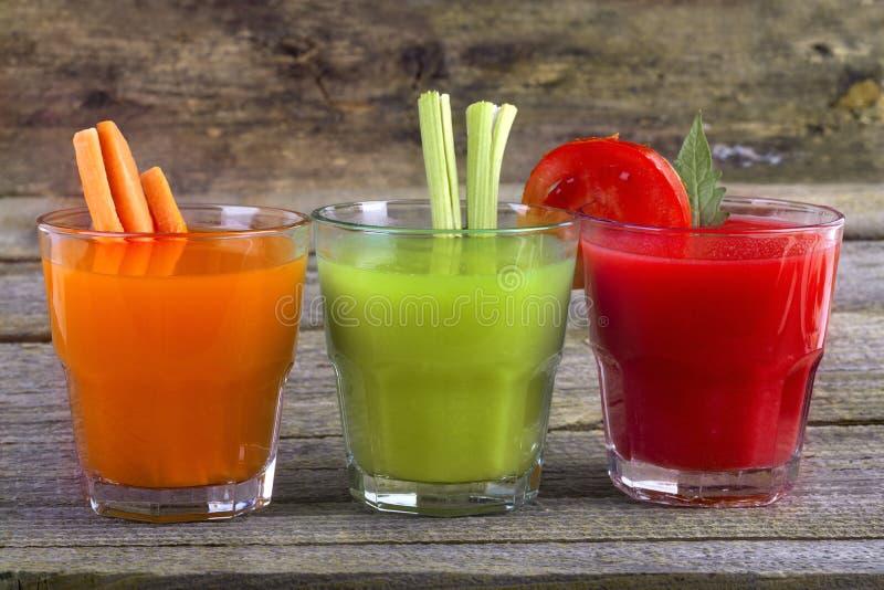 Vegetable соки стоковые изображения rf