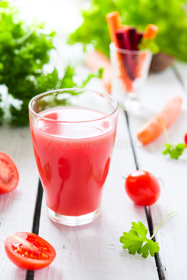Vegetable сок стоковые фото