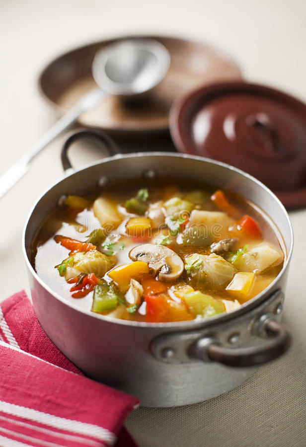 Vegetable тушёное мясо стоковая фотография rf