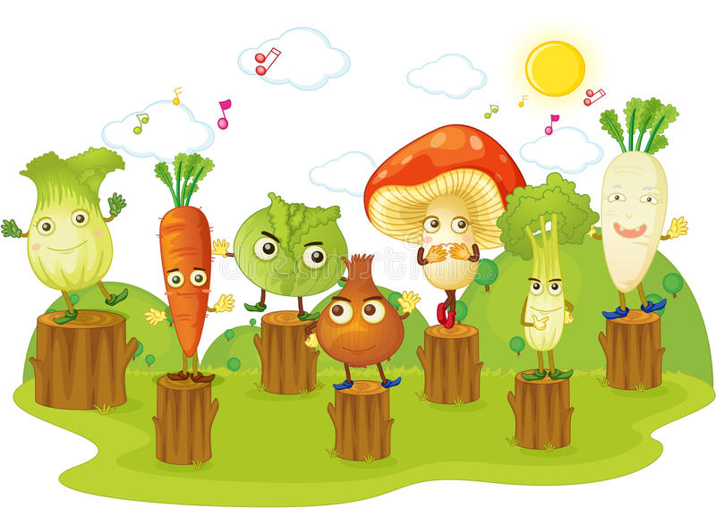 Vegetable royalty free illustration