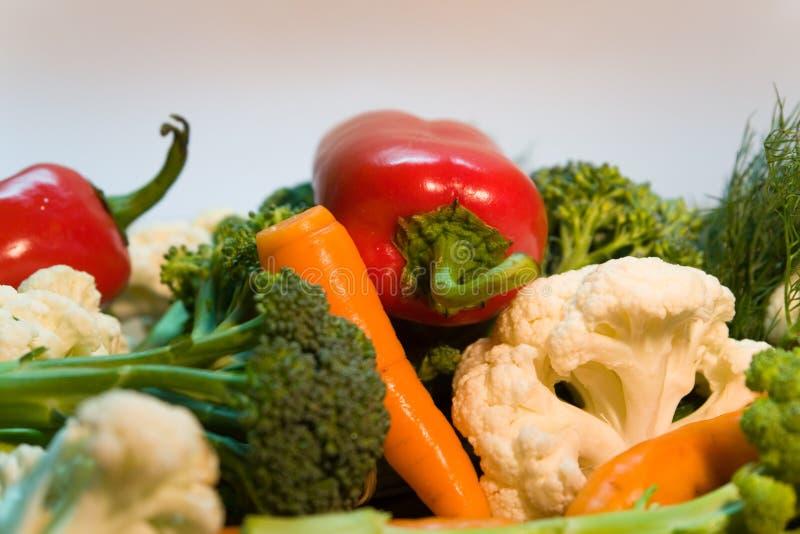 Vegetable. Vegetarian food... peppers, cucumber, carrot, etc stock images