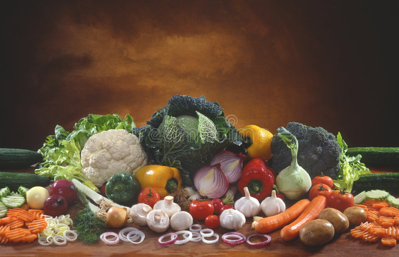 Vegetable. The still life with vegetable royalty free stock photos