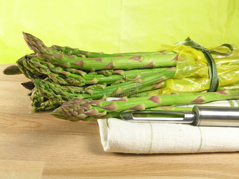 Vegetable - asparagus royalty free stock photo