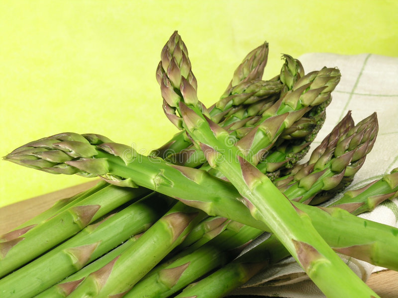 Vegetable - asparagus royalty free stock photography