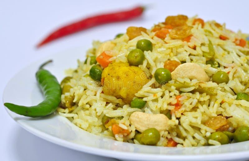 Vegetable Biryani royalty free stock photography
