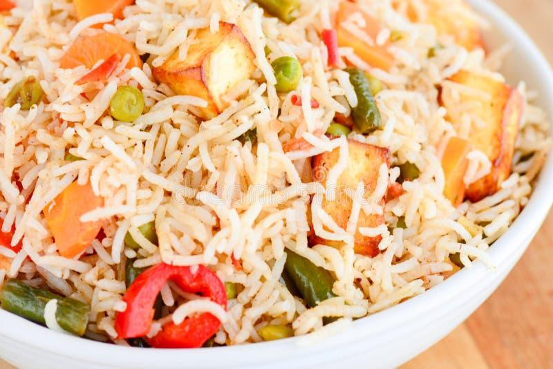 Vegetable Biryani royalty free stock image