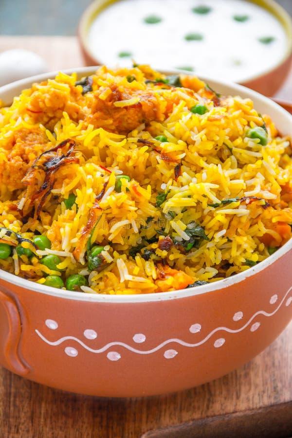 Vegetable Biryani royalty free stock photos