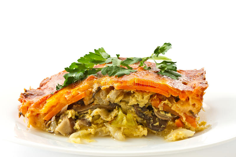Download Vegetable casserole stock image. Image of casserole, green - 24434069