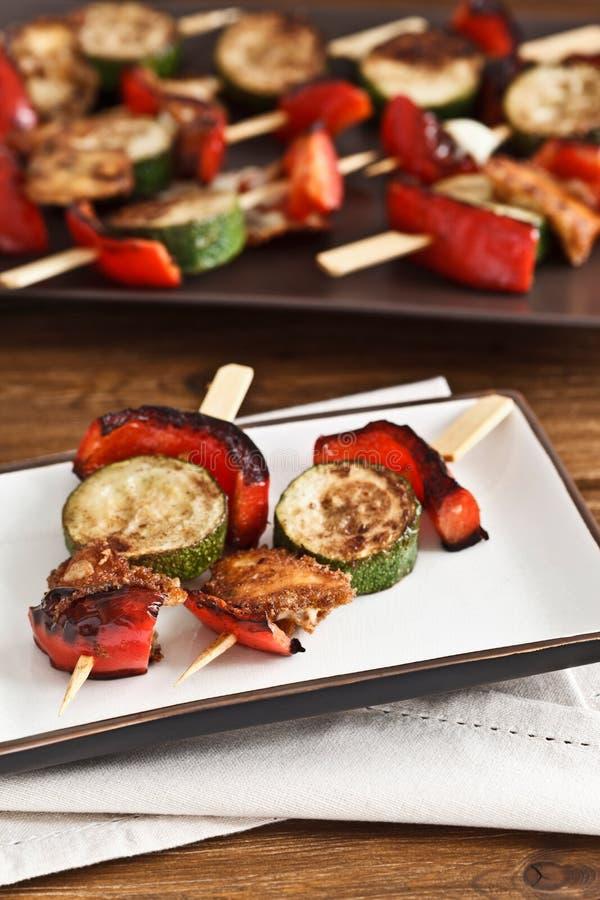 Download Vegetable Cheese Skewers stock image. Image of vegetables - 21870943
