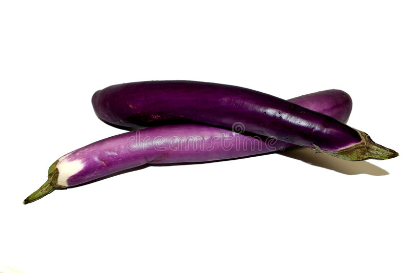 Vegetable - Chinese Eggplant stock images