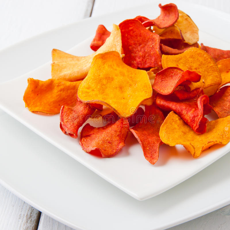 Free Vegetable Chips Royalty Free Stock Photography - 33389277