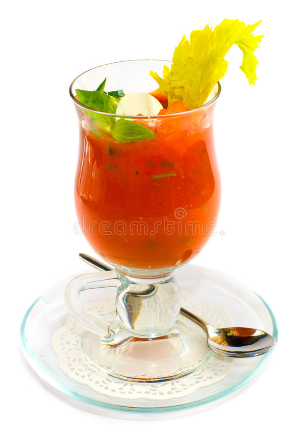 Vegetable cocktail stock photography