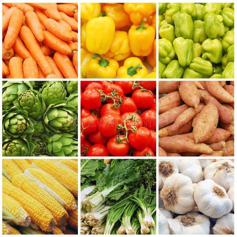 Free Vegetable Collage Stock Photo - 18480790