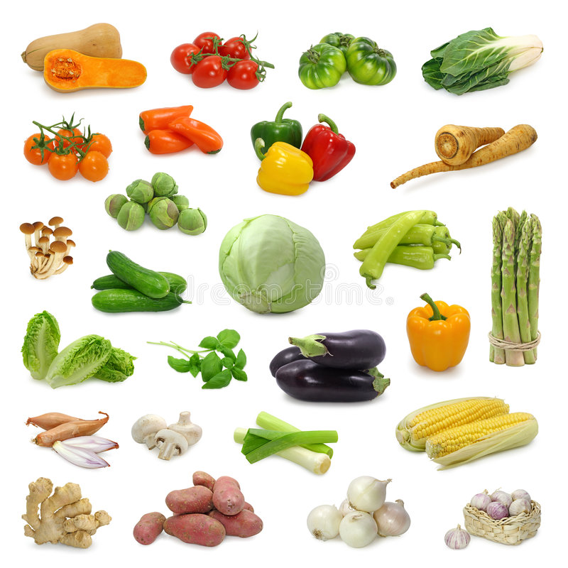 Free Vegetable Collection Royalty Free Stock Photo - 5422045