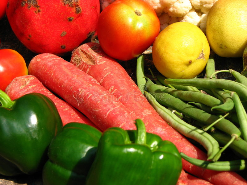 Vegetable Colors stock photography