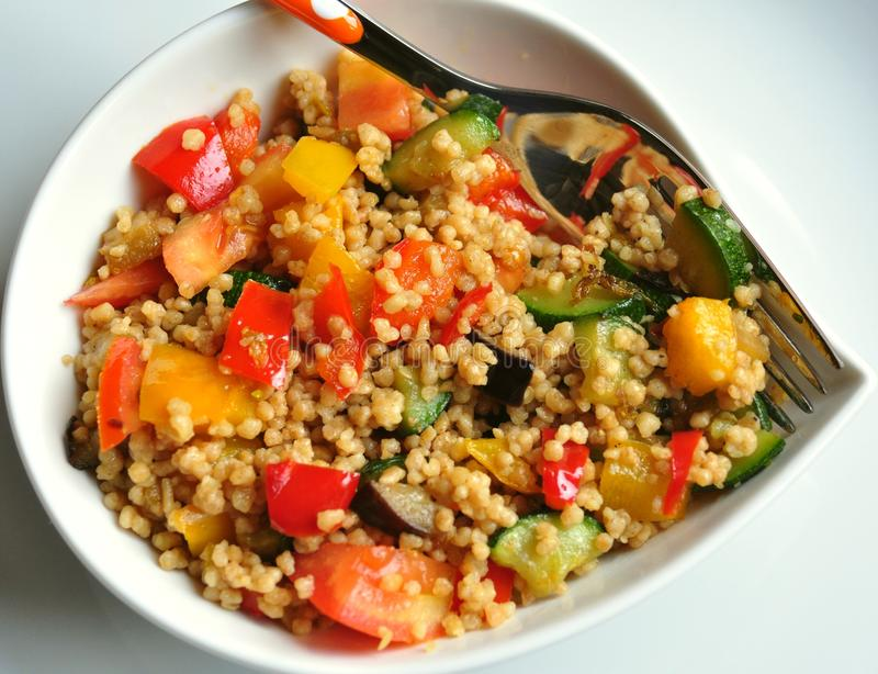 Download Vegetable cous cous meal stock image. Image of lunch - 27476191