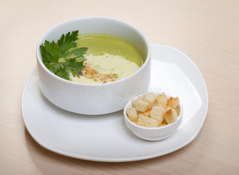 Vegetable Cream Soup Royalty Free Stock Image