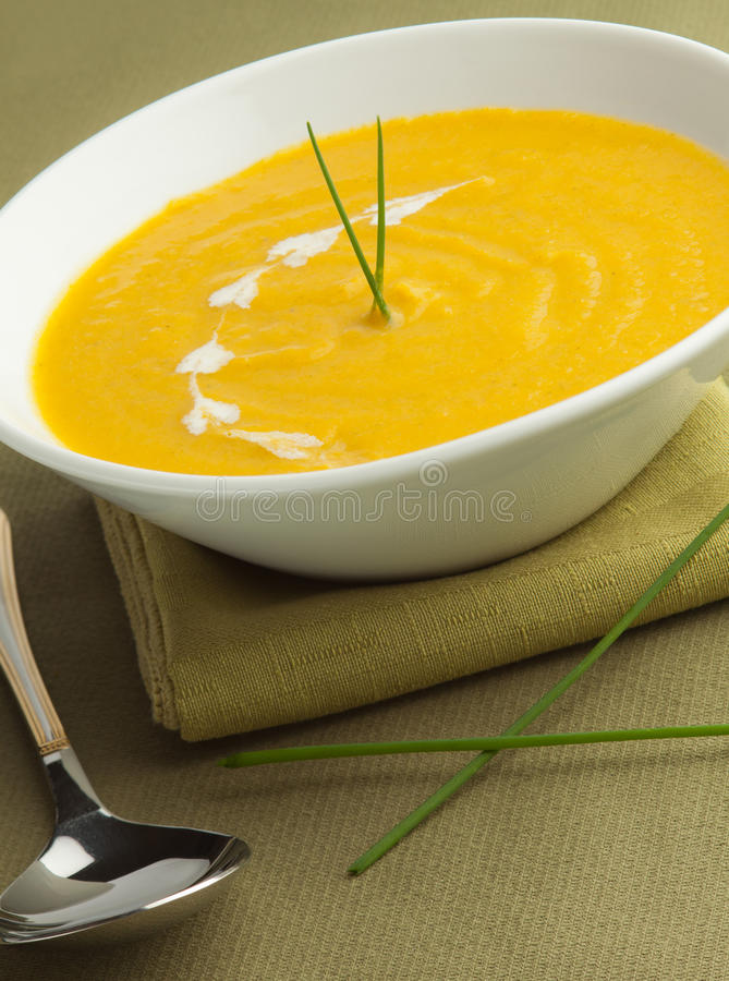 Download Vegetable Cream Soup Stock Image - Image: 20913281