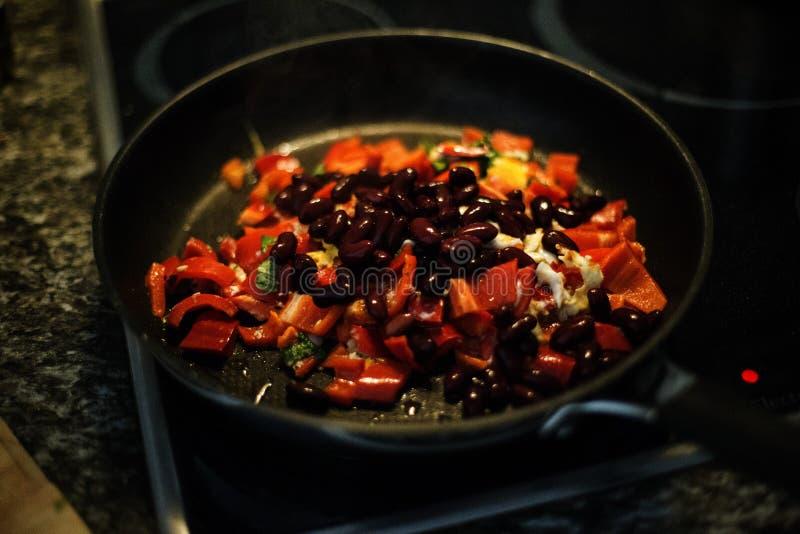 Vegetable Dish On Frying Pan Free Public Domain Cc0 Image