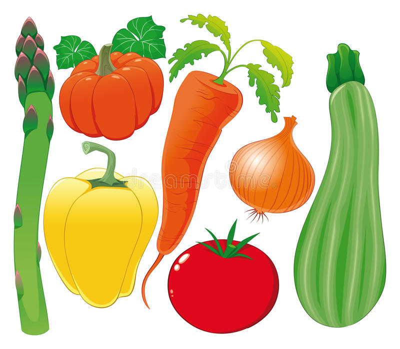Download Vegetable Family. Stock Images - Image: 15588814