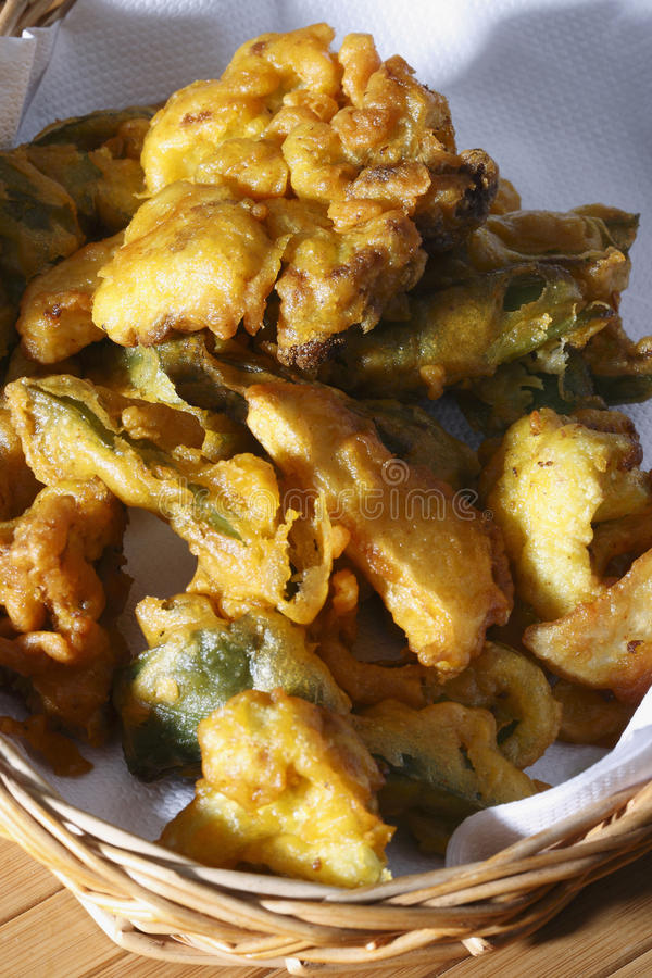 Vegetable Fritters royalty free stock photography