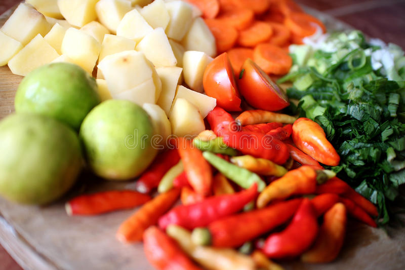 a variety of vegetables that are somewhere stock image